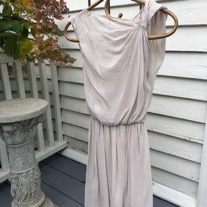 Alice & Olivia Asymmetrical 100% Silk Dress